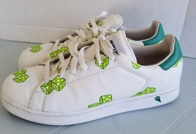 Billionaire Boys Club Ice Cream low dice shoes 11.5 Limited Edition green  white 99e7ef2c1