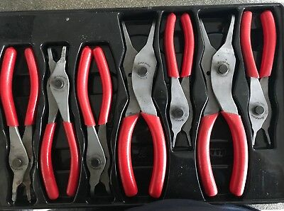 Snap On Circlip Plier Set