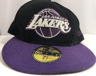 new arrival 62795 0f24b Los Angeles Lakers New Era NBA Black 59fifty 7 5 8