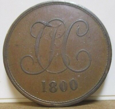 1800 - DH 13 -  Conder Token - Middlesex, Christ's Hospital - Penny - SCARCE