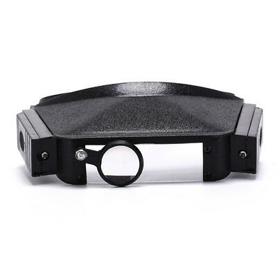 Brille Lupe Auge Reparatur Lupe LED Licht drei Linse Lupe
