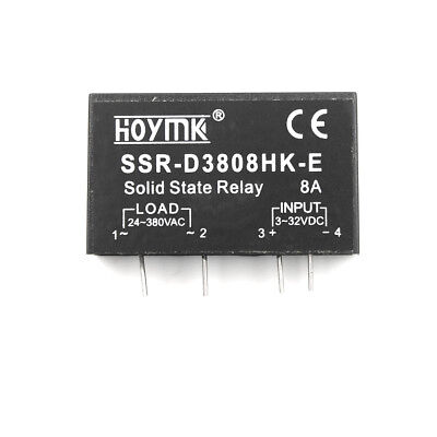 Q00132 PCB Dedicated with Pins Hoymk SSR-D3808HK 8A DC-AC Solid State Relay BLJB