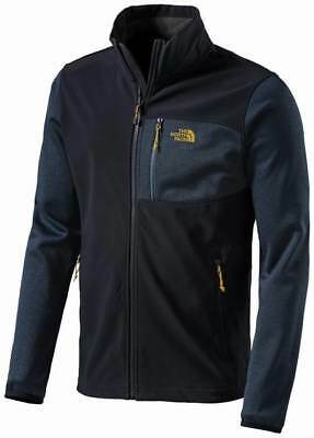 The NORTH FACE Herren Softshell Gr S Navy Hybrid JACKE Shell Fleece Apex