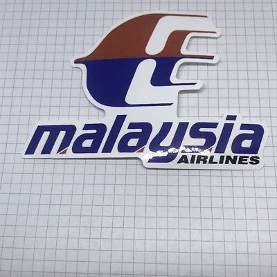 Airline Sticker Malaysia Airlines - Outdoorgeeignet