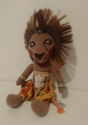 """Disney Lion King Simba Soft Plush Toy From The Broadway Musical 12"""" Tall"""