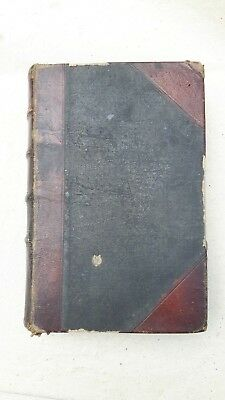 Old Antique Armenia, Armenian Book - Two Books In One 1868 With Illustrations