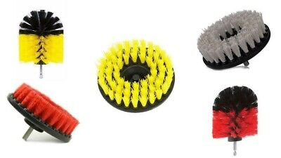 5Pcs/Set Drill Brush Wall Tile Grout Power Scrubber Tub Cleaner Combo Cleaning