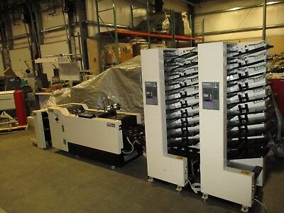 Duplo Dc 10000S, Year : 1999, 2 -8 Station Vacuum Tower Air Collator,  Stitcher
