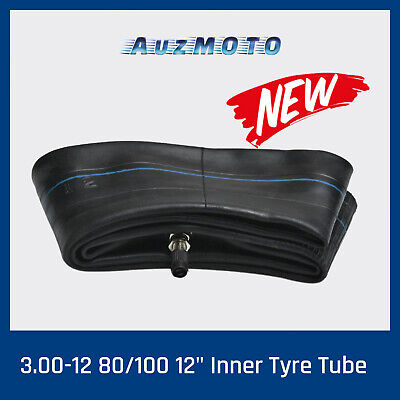 "NEW 3.00-12 80/100 12"" Inner Tyre Tube 50/90/110/125cc Dirt Pit Trail Bike 12"""