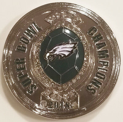 2018 NFL Football Super Bowl Champions Philadephia Eagles Coin (non NYPD)