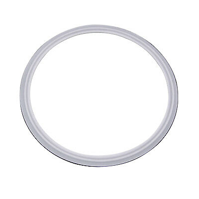 """HFS(R) 10"""" VITON with PTFE Coved Gasket Fits Sanitary Tri Clamp Type Ferrule"""