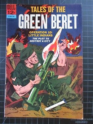 Dell Tales Of The Green Beret #2 1967