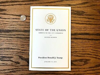 President Donald J. Trump State of the Union Address to 115 Congress 1/30/2018