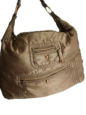 3d03c0776c2 AUTHENTIC TOD'S PASHMY Sacca Hobo Media Hobo Bag Olive Green Grey ...