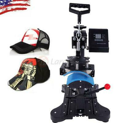 New Digital Hat Cap Heat Press Machine Sublimation Transfer T-Shirt Mug Printer