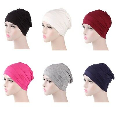 2018 Women Cotton Unisex Cap for Cancer Hair Loss Sleeping Cap Chemotherapy Hat