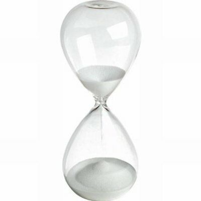 Large Fashion Colorful Sand Glass Sandglass Hourglass Timer Clear Smooth Gl M5Q8