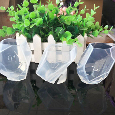 DIY Clear Silicone Mold Making Jewelry Pendant Resin Casting Mould Craft Tool