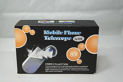 ~-{ 8 x Mobile Phone Telescope for i8190 }-~