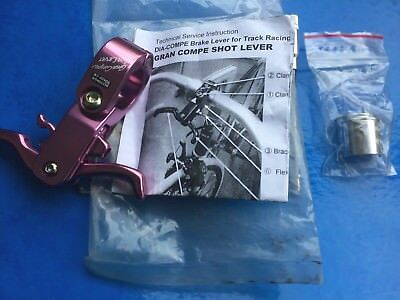 New Old Stock Dia Compe Shot Lever In Pink,for Fixie Fixed