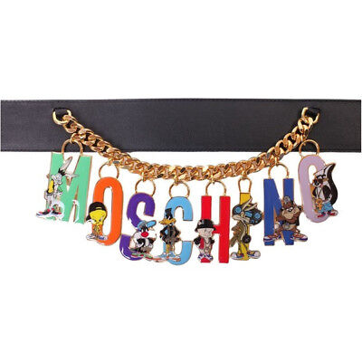 MOSCHINO Looney Tunes Charm Belt - Limited Edition SOLD OUT