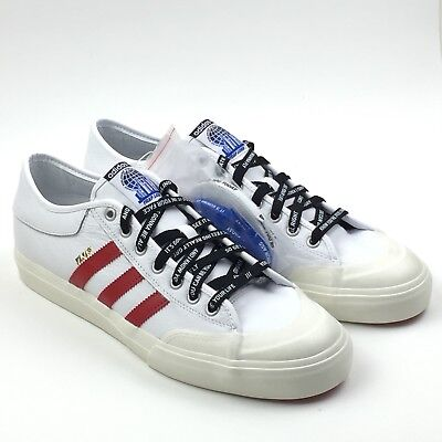 new style 739ae f8fab Adidas Matchcourt X Trap Lord ASAP Ferg New CG5615 Mens Size 12 White Red