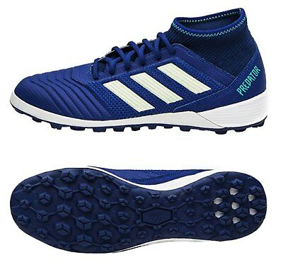 67c6cd38fe4 Adidas Men Predator Tango 18.3 TF Cleats Futsal Navy Shoes Boot Spike CP9280