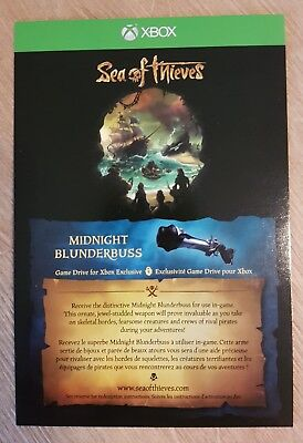 Sea of Thieves Midnight Blunderbuss DLC Game Add-On Downloadcode NEW!