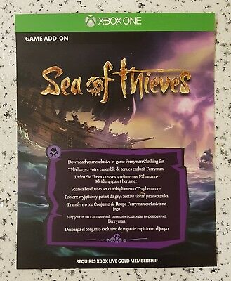 Sea of Thieves Ferryman Clothing Set DLC Game Add-On Downloadcode NEW!