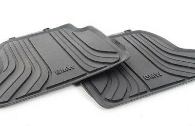New Genuine BMW F23 14-18 Rear All Weather Floor Mats 2361515 OEM