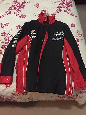 Collectable Holden HSV8 Racing Team Polar Fleece lined Jacket- Size Large.