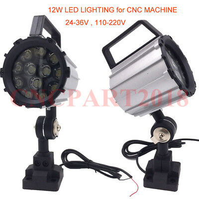 12W LED Lighting Swing Arm Milling Bench Machine CNC Industrial Work Light Lamp