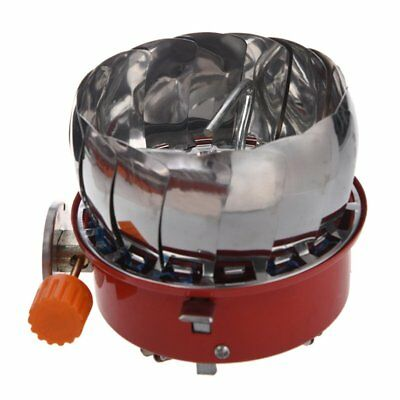 Windproof Stove Cooker Cookware Gas Burner for Camping Picnic Cookout BBQ C7D2