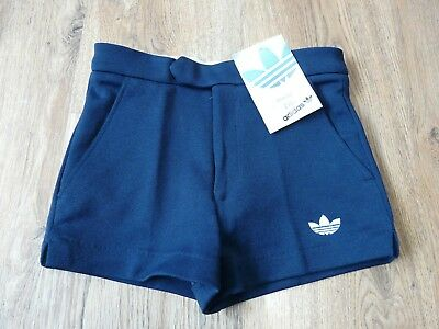 "Vintage Adidas Shorts W/Tag Pockets PE Tennis Gym Size 26"" D140 (N278)"