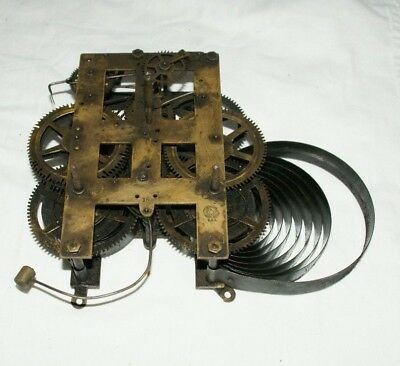 Antique NEW HAVEN (U.S.A)  Wall/Shelf/Parlour Clock Movement, Spares/Repair