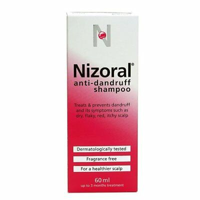 Nizoral Anti Dandruff Shampoo 60 ml