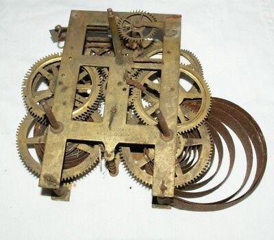 Antique ANSONIA (U.S.A)  Wall/Shelf/Parlour Clock Movement, Spares/Repair