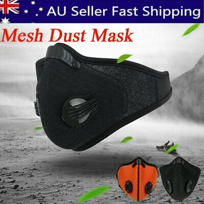 Outdoor Mesh Mask Breathable Cycling Anti Dust Haze Half Face Filter Neoprene