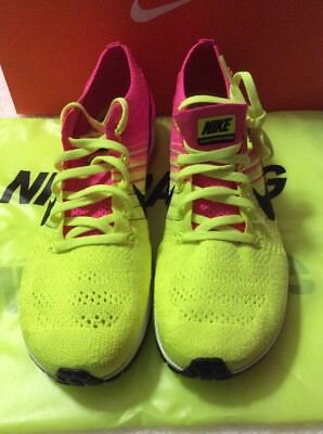 3c8eae5fa407e Nike Flyknit Streak Multi Color Running Mens Sz 11 835994 999 Neon Volt  Yellow