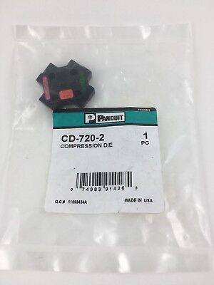 Panduit CD-720-2 COMPRESSION DIE NEW IN PACKAGE