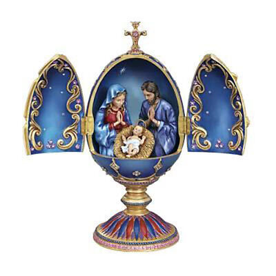 Danbury Mint The Nativity Egg