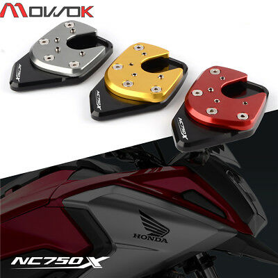 CNC High Quality NC750X Side Stand Enlarge Extension Plate For Honda NC750x 2018