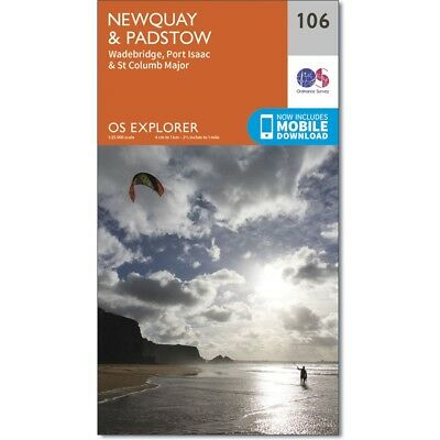 OS Explorer map 106; Newquay and Padstow