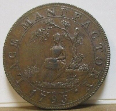 1795 -  DH 389 - Conder Token - Middlesex, Moore's - Halfpenny - Great Britain