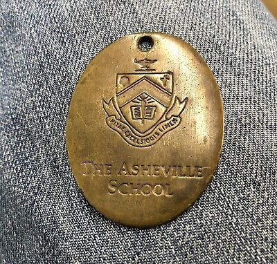 "Antique Circa 1910 ""The Asheville School"" Key Fob"