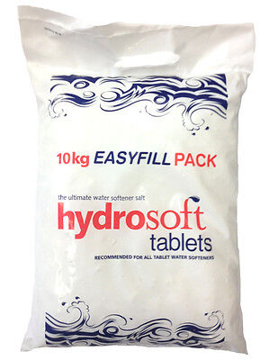10KG X2 | HYDROSOFT | SALT TABLETS | Water Softener Dishwasher | FCC Food Grade