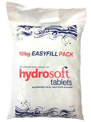 10KG X6 | HYDROSOFT | SALT TABLETS | Water Softener Dishwasher | FCC Food Grade