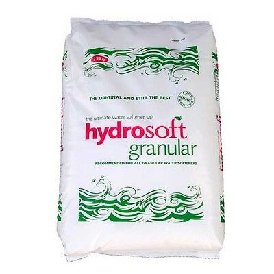 25KG BAG | HYDROSOFT | GRANULAR SALT | Water Softener Dishwasher | Food Grade