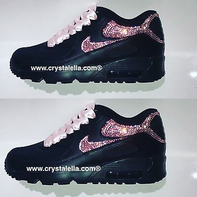 CRYSTAL NIKE AIR Max 90's in White EUR 149,83 | PicClick FR