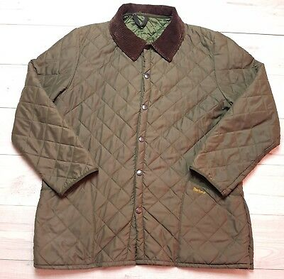 Mens Barbour Liddesdale Casual Jacket Green Size XL